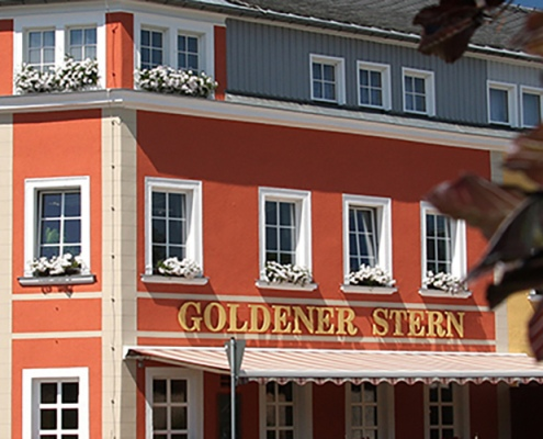Erzgebirge - Goldener Stern